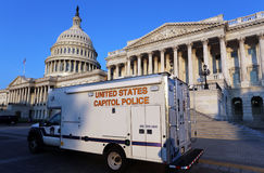 United States Capitol Police Stock Image