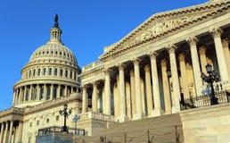 United States Capitol. The United States Capitol at sunrise Royalty Free Stock Photo