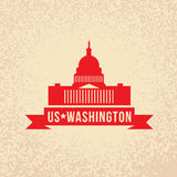 United States Capitol - The symbol of US, Washington DC Royalty Free Stock Photos