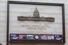 United States Capitol Visitor Center Royalty Free Stock Images
