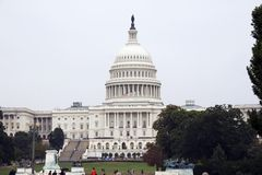 United States Capitol, Washington DC Royalty Free Stock Image