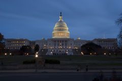 United States Capitol in Washington DC Royalty Free Stock Photos