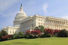 United States Capitol, Washington DC. United States Capitol in spring, Washington DC Royalty Free Stock Photo