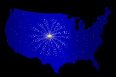 United States Celebration Stock Image