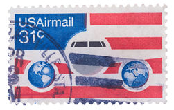 UNITED STATES - CIRCA 1976: stamp printed in Royalty Free Stock Photography