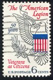 Great Seal. UNITED STATES - CIRCA 1969: stamp printed by United states, shows Eagle from Great Seal of U.S., circa 1969 royalty free stock photography