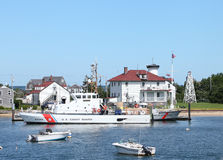 United States Coast Guard, Brant Point, Nantucket Royalty Free Stock Photos