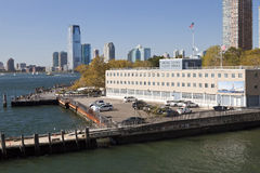 United States coast guard building and Jersey City Stock Images