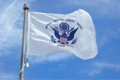 United States Coast Guard Flag Stock Photos