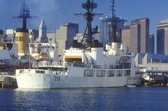 United States Coast Guard Ship Stock Photo