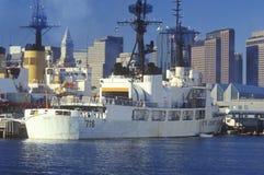 United States Coast Guard Ship Stock Photo