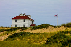 United States Coast Guard Station, Provincetown, MA. Stock Photos