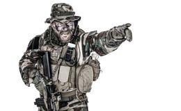 United States Commando Stock Photo