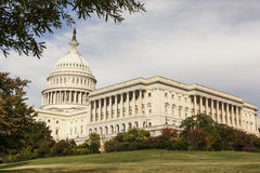 United States Congress in the Fall. A view of the Capital Building in Washington DC Stock Photography