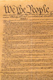 United States Constitution. We The People Stock Photo