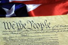 United States Constitution Royalty Free Stock Photos