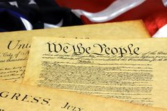 United States Constitution Stock Images