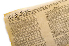 Free United States Constitution Royalty Free Stock Photography - 6720887