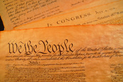 United States Constitution Stock Photography
