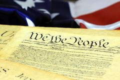 United States Constitution, We The People Royalty Free Stock Photography
