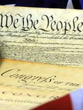 United States Constitution, We The People Stock Photos