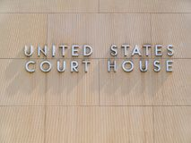 United States Court House Royalty Free Stock Image