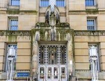 United States Court House - Buffalo, New York. United States Court House building in Buffalo, New York royalty free stock photo