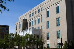 United States Courthouse. Located in downtown Pensacola, Florida, USA royalty free stock photography