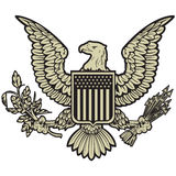United States crest Royalty Free Stock Photos