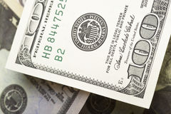 United States currency Stock Photography