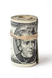 United states currency roll of money Royalty Free Stock Photo