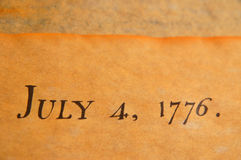 United States Declaration of Independence royalty free stock photos