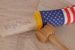 United States Declaration of Independence Stock Image