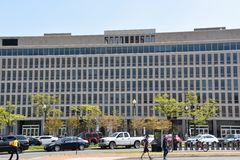 United States Department of Education in Washington, DC royalty free stock photos