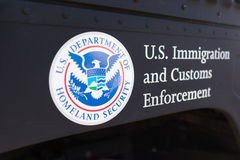 United States Department of Homeland Security logo Stock Images