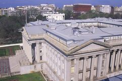 United States Department of Treasury Royalty Free Stock Photos