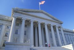 United States Department of Treasury Building, Washington, D.C. Royalty Free Stock Photo