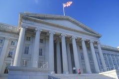 United States Department of Treasury Building, Washington, D.C. Royalty Free Stock Photo