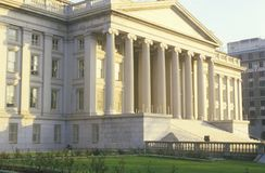 United States Department of Treasury Building, Washington, D.C. Royalty Free Stock Photography