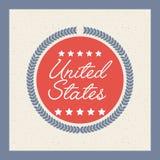 United states design Stock Image