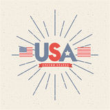 United states design Royalty Free Stock Images