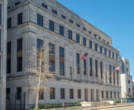 United States District Court in Mobile Alabama. The historic federal building and courthouse in Mobile Alabama Royalty Free Stock Photo