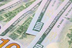 United States dollar banknotes closeup. Cash money closeup photo Stock Photo