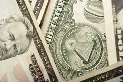 United States dollars Stock Photography