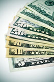 United States dollars notes Stock Photography