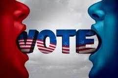 United States Election Voter Stock Photos