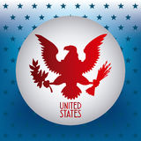 United states emblem Stock Images
