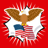 United states emblem Royalty Free Stock Photos