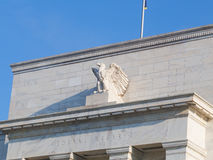 United States Federal Reserve System headquarters in Washington DC. Federal Reserve Board is located in Eccles Building and is the main governing body of the Royalty Free Stock Photography