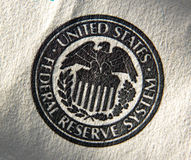 United States Federal Reserve System symbol. Stock Photo
